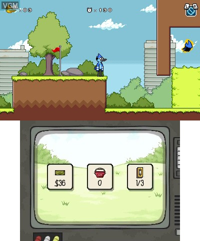 Regular Show - Mordecai & Rigby in 8-Bit Land