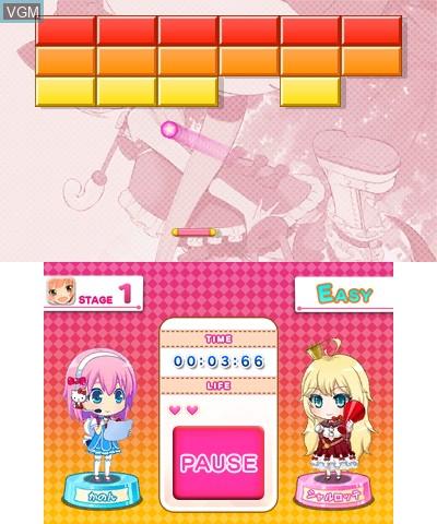 Hello Kitty to Issho! Block Crush Z