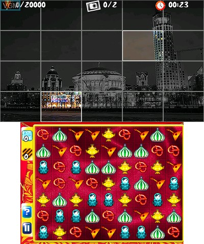 In-game screen of the game Best of Casual Games on Nintendo 3DS