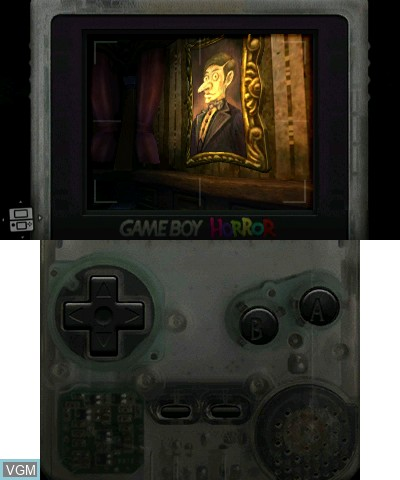 In-game screen of the game Luigi's Mansion on Nintendo 3DS