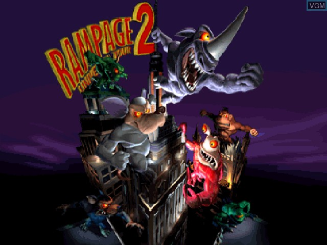 Rampage 2 Universal Tour For Nintendo 64 The Video Games Museum