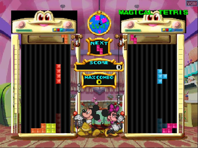 Magical Tetris Challenge Featuring Mickey