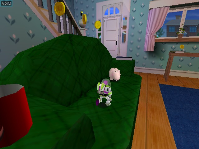 In-game screen of the game Toy Story 2 - Buzz L'eclair A La Rescousse! on Nintendo 64