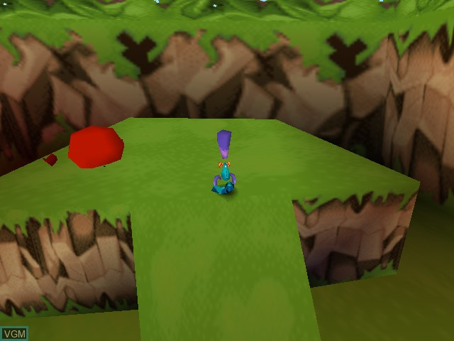 In-game screen of the game Tonic Trouble on Nintendo 64