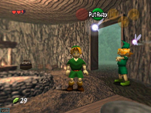 In-game screen of the game Legend of Zelda, The - Ocarina of Time - Master Quest on Nintendo 64