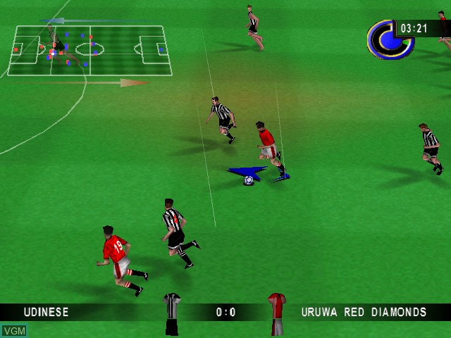 In-game screen of the game Michael Owens WLS 2000 on Nintendo 64