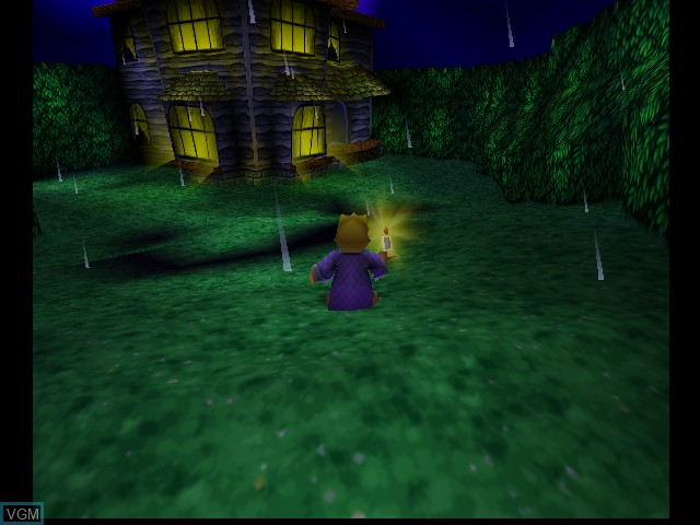 In-game screen of the game 40 Winks on Nintendo 64