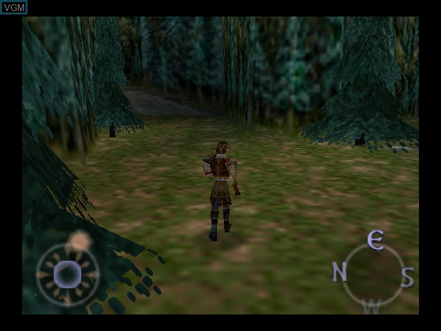 In-game screen of the game Aidyn Chronicles - The First Mage on Nintendo 64