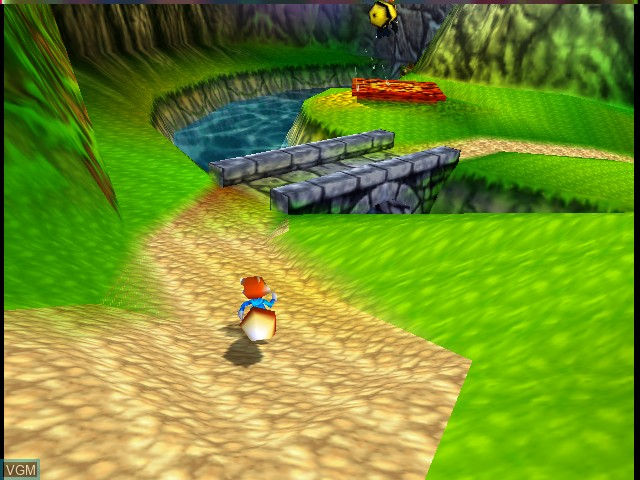 In-game screen of the game Conker's Bad Fur Day on Nintendo 64