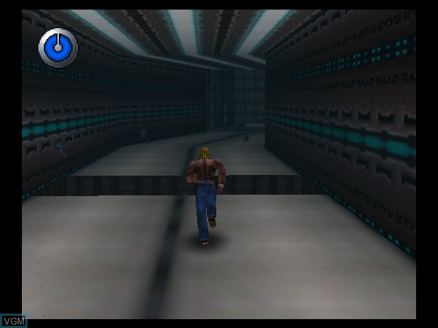 In-game screen of the game Hybrid Heaven on Nintendo 64