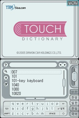 Touch Dic