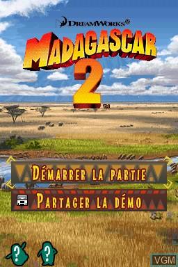 Madagascar Escape 2 Africa For Nintendo Ds The Video Games Museum