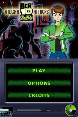 Ben 10 - Alien Force - Vilgax Attacks for Nintendo DS - The