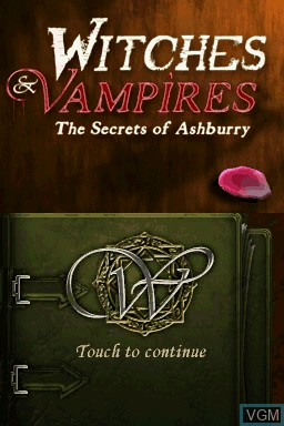 Witches & Vampires - The Secrets of Ashburry for Nintendo DS