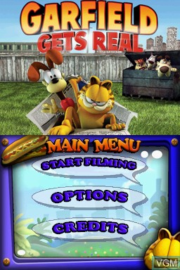 Garfield Gets Real For Nintendo Ds The Video Games Museum