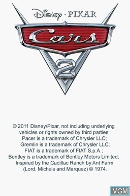 Cars 2 for Nintendo DS - The Video Games Museum