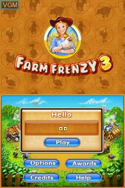 Farm Frenzy 3 for Nintendo DS - The Video Games Museum