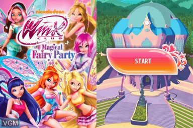 Winx Club - Magical Fairy Party for Nintendo DS - The Video