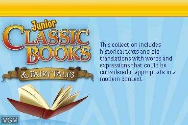 Junior Classic Books & Fairytales for Nintendo DS - The
