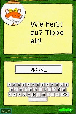 Title screen of the game Mathematik und Deutsch - 1.-4. Klasse - 2014 on Nintendo DS