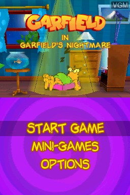 Garfield S Nightmare For Nintendo Ds The Video Games Museum