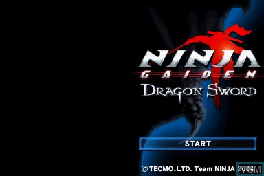 Ninja Gaiden Dragon Sword For Nintendo Ds The Video Games Museum