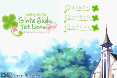 Tokimeki Memorial Girl S Side 1st Love Plus For Nintendo Ds