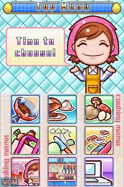 Cooking Mama 3 for Nintendo DS - The Video Games Museum