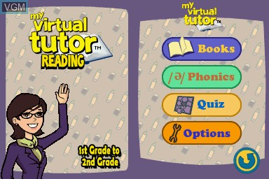 My Virtual Tutor Reading 1st Grade To 2nd Grade For Nintendo Ds