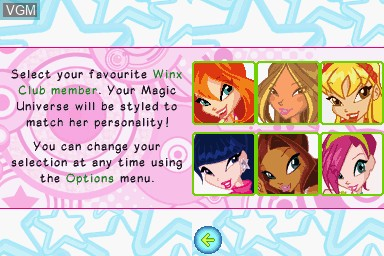 Winx Club - Your Magic Universe for Nintendo DS - The Video