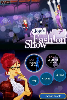Jojo S Fashion Show Design In A Dash For Nintendo Ds The Video Games Museum