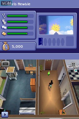 In Screen Of The Sims 2 Apartment Pets On Nintendo