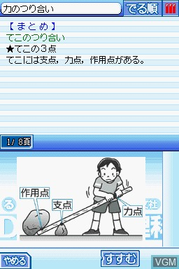 Obunsha Deru-jun - Rika DS