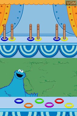 123 Sesame Street - Cookie's Counting Carnival - The Videogame