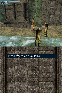 Lara Croft Tomb Raider Legend For Nintendo Ds The Video Games