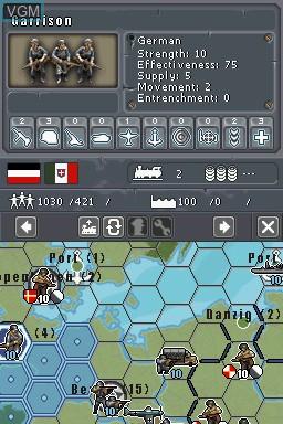 commander europe at war ds