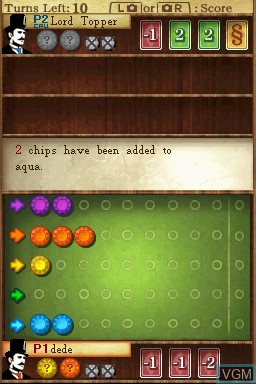 In-game screen of the game PictureBook Games - The Royal Bluff on Nintendo DSi