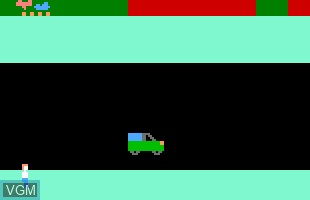 In-game screen of the game V2 - Traffic Games 2 on Odyssey 2