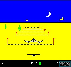 Menu screen of the game 3D Fongus on Tangerine Computer Systems Oric