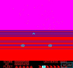 Menu screen of the game Loki on Tangerine Computer Systems Oric