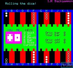 Atmos 48k Backgammon