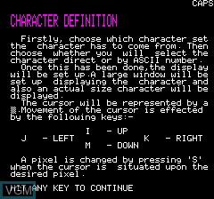 Character Define