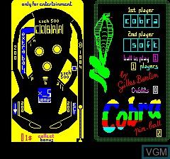 Cobra Pinball 2