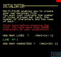 Multifiler