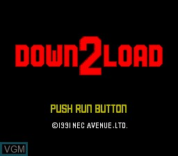 Download II for NEC PC Engine CD - The Video Games Museum