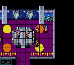 Menu screen of the game Aurora Quest Otaku no Seiza on NEC PC Engine CD