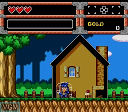 Menu screen of the game Chou Eiyuu Densetsu - Dynastic Hero on NEC PC Engine CD
