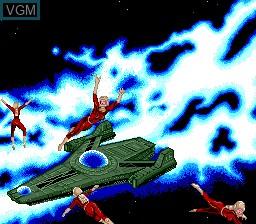 Menu screen of the game Cobra - Kokuryuuo no Densetsu on NEC PC Engine CD