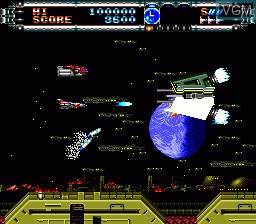 In-game screen of the game 4 in 1 Super CD on NEC PC Engine CD