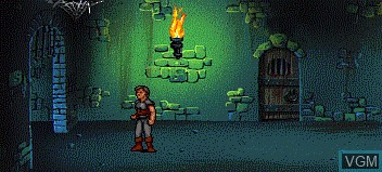 In-game screen of the game Beyond Shadowgate on NEC PC Engine CD